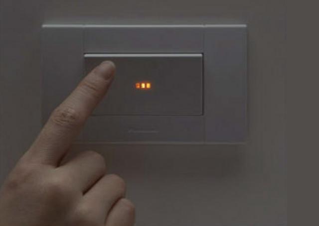 內藏指示燈 在昏暗中也能安心操作