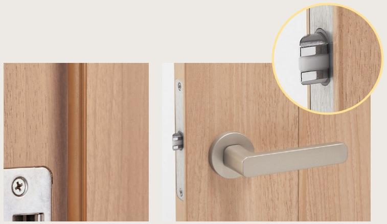 雙層防撞消音鎖門檔緩衝條