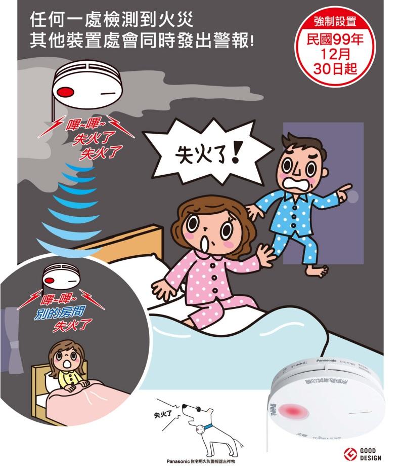 住宅用火災警報器(光電式・定溫式) 無線連動型 1