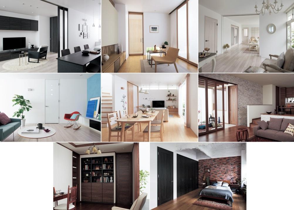 搭配出各式木質感空間風格